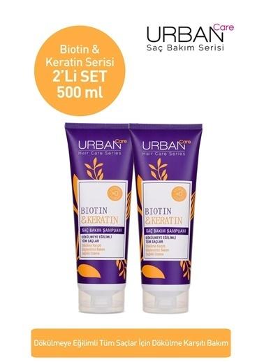 Urban Care Biotin & Keratin Saç Bakım Şampuanı x2'li Set Renksiz
